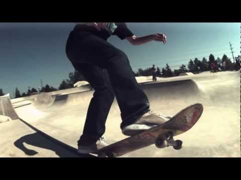 Jordan Garland 600 fps slow motion skateboarding