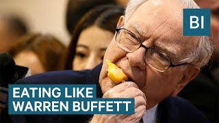 I ate like billionaire Warren Buffett for a week - and I felt awful