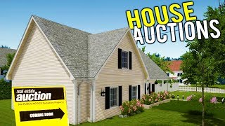 NEW HOUSE FLIPPING AT AUCTIONS! Huge Update + Making Big Money! - House Flipper Beta Gameplay