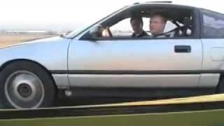 Lambo vs Honda CRX