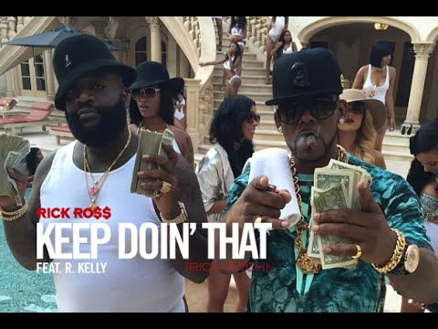 Inside Look: Rick Ross keep Doin' That (rich Bitch) Music Video Featuring R. Kelly video