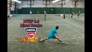NTRP 9.0 Mixed Doubles - Andrew/Noelle - Match Highlights