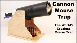 Cannon Mouse Trap - The World's Craziest Mouse Trap. Mousetrap Monday