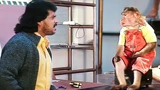 Upendra Talk With Monkey | Best Of Kannada Scenes
