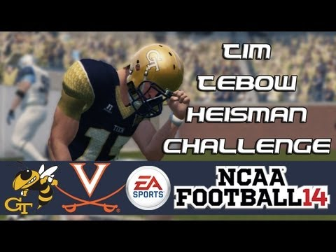 NCAA Football 14 Heisman Challenge Mode: Tim Tebow EP8 - Best Game So Far