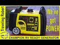 RV Ready Generator for our Winnebago Micro Minnie 1706FB travel vlog