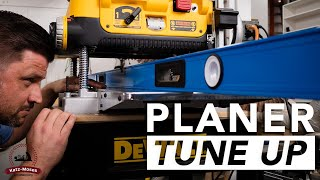 Thickness Planer Tune Up and Maintenance