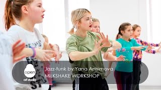 Milkshake workshop - Jazz funk by Yana Anisimova - Open Art Studio