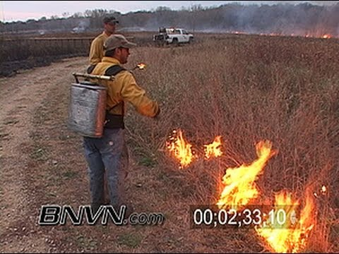 10/24/2006 Wild Fire Video and Controlled Burn Footage. Part 3 of 4