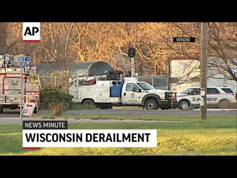 Second Train Derails In Wisconsin