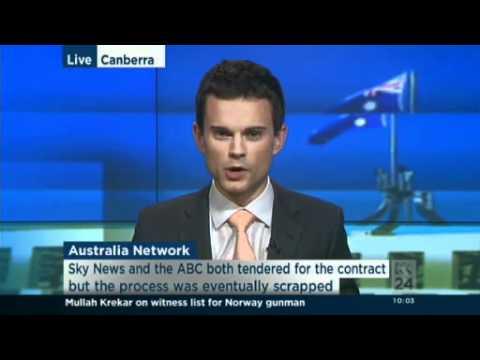 Report criticises handling of Australia Network tender