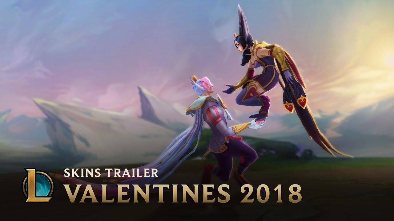Love Is An All-Mid Battlefield   Sweetheart Skins 2018 Trailer - League of Legends