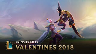 Love Is An All-Mid Battlefield | Sweetheart Skins 2018 Trailer - League of Legends