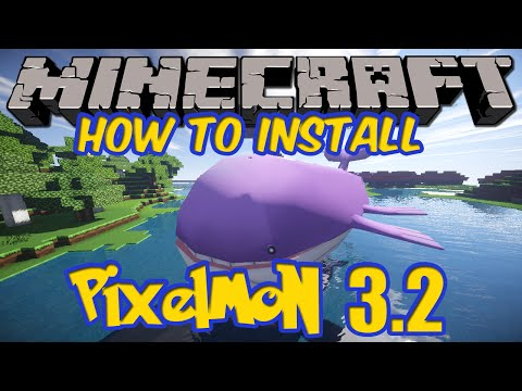 Minecraft Pixelmon 3.2.7/1.7.10 HOW TO INSTALL STEP BY STEP! (Pixelmon 3.2.7 Mod)