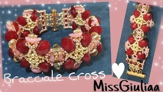 DIY Tutorial Bracciale Cross | crescent | MissGiuliaa