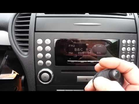 Parrot MKi9000 demo - Mercedes SLK