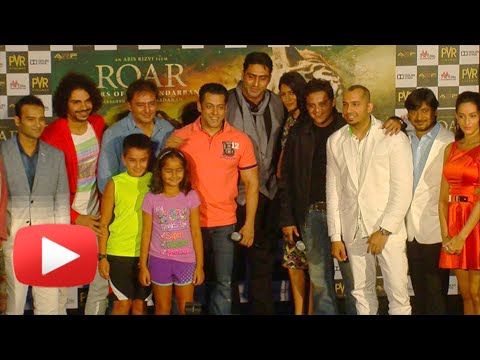 Salman Khan At Roar The Tiger Of Sunderbans Launch - Uncut Video
