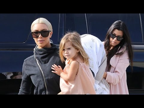X17 EXCLUSIVE: Kim And Kanye Lend Kourtney Kardashian A Hand With The Kids As Scott Enters Rehab