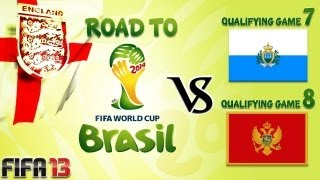 [TTB] FIFA 13 - Road to the World Cup 2014 - Qualifying Match Days 7 and 8 - Close to Qualifying!