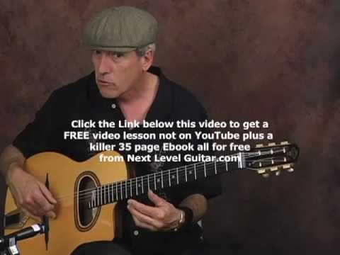 0 Learn how to play Gypsy Jazz Guitar classical style soloing licks tutorial lesson
