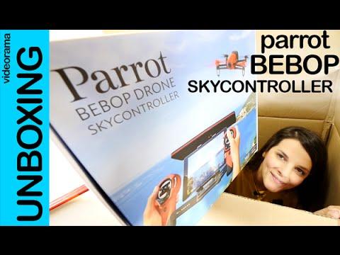 Parrot Bebop Drone y SkyController unboxing en espa�ol