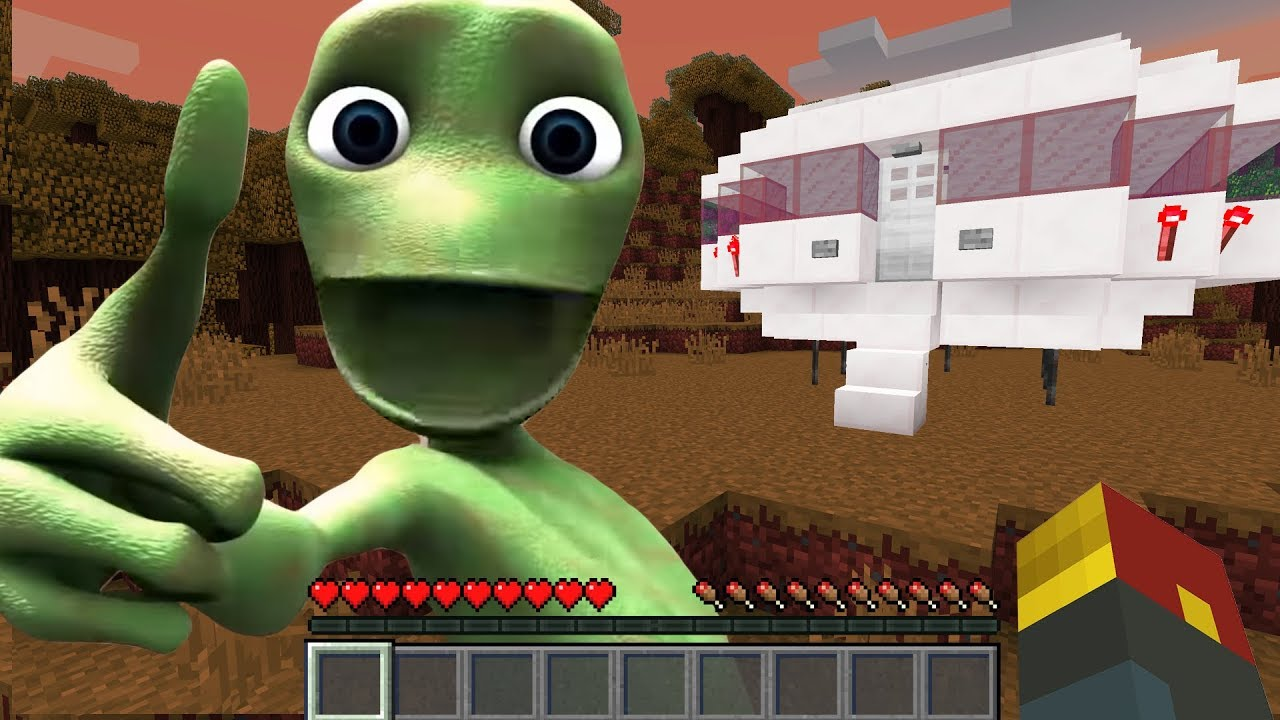 I Found DAME TU COSITA *CRASHED* in Minecraft