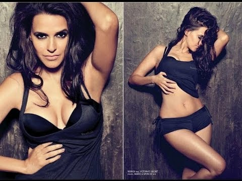 Hot Neha Dhupia in Bikini on the Magazine Cover