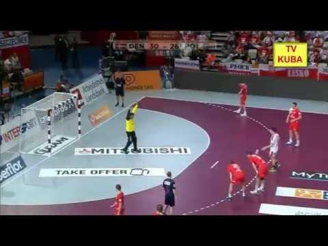Piłka Ręczna MŚ 2015 Polska - Dania 27:31 Ostatnie 4 Minuty Meczu