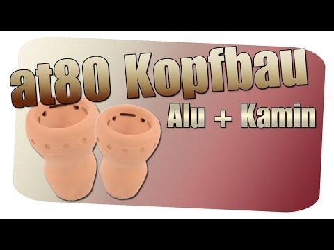 WIE BAUE ICH EINEN GUTEN SHISHA KOPF #3 [at80 TONKOPF] Mit Alufolie Und Kamin [Shisha Tipps]
