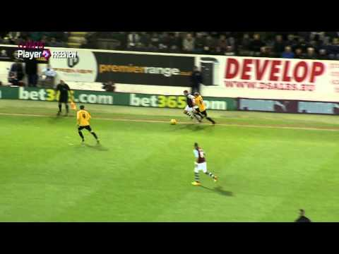 CLARETS PLAYER FREEVIEW: Michael Kightly scores a wonder-goal against Barnsley at Turf Moor to send the Clarets back to the top of the table. Full match replay and extended highlights available...