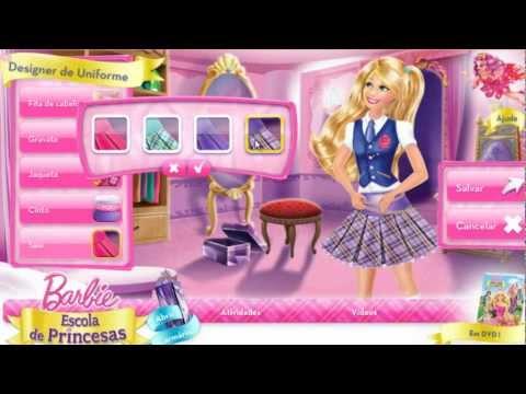 Barbie Escola de Princesas - Designer de Uniforme