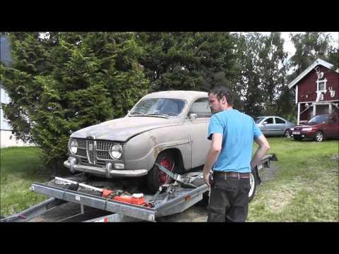 Saab 2-stroke barn find