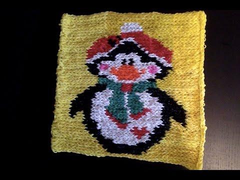 Pingouin en elastiques tuto en fran ais videolike for Mural en elastique
