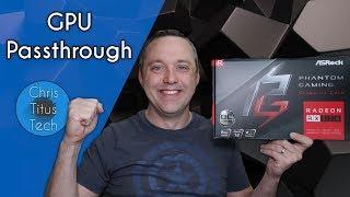 GPU Passthrough on Linux | New GPU Installation