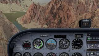 Microsoft Flight Simulator X Cessna 172 Grand Canyon