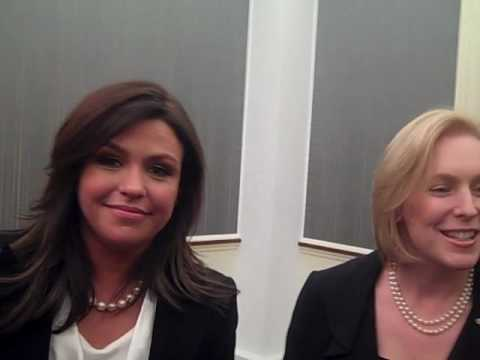 Rachael Ray on Kirsten Gillibrand