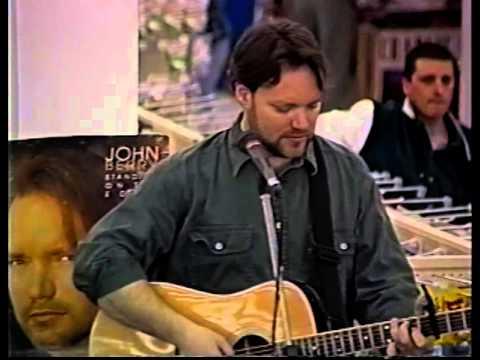 John Berry, live plus interview, Walmart Fredericton, NB, Canada, 1996