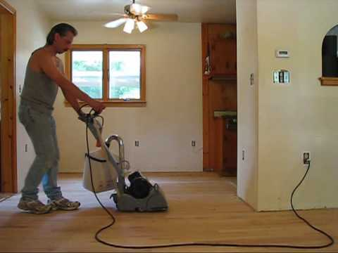DIY 108 - Refinishing wood floors - Sanding - part 2 of 3