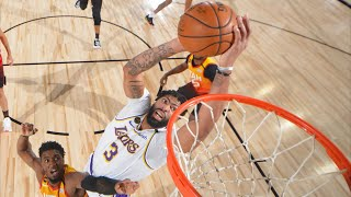 Anthony Davis 42 Pts! Lakers Clinch 1st Seed! 2020 NBA Restart
