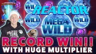 RECORD WIN ON REACTOR!! Casino Games - Online Casino with EPIC REACTIONS
