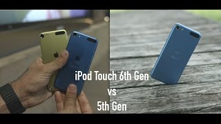 iPod Touch 6th Generation vs 5th Generation
