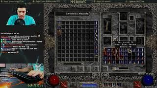 Diablo 2 - HC Hell Amazon WR Attempt - SICK FINDS! - (12/03/2017)