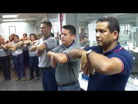 Pausa Activa en el CPV de Blinzoca Maracaibo