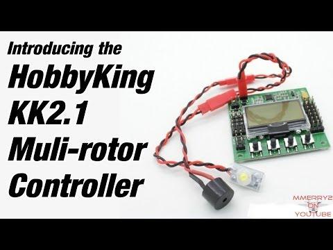 HobbyKing KK2.1 Replaces KK2.0 Multirotor Controller