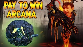 PAY TO WIN EARTH SPIRIT ARCANA ◄ SingSing Moments Dota 2