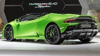 2020 Lamborghini Huracan EVO Spyder Walkaround – Exterior and Interior
