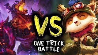 ONE TRICK TEEMO VS. ONE TRICK NASUS - DOES TEEMO REALLY COUNTER NASUS?