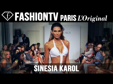Sinesia Karol Swimwear Show | Miami Swim Fashion Week Summer 2015 | Bikini Models | Fashiontv video