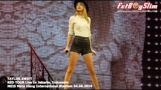 TAYLOR SWIFT - STATE OF GRACE ( OPENING ) live in Jakarta, Indonesia 2014