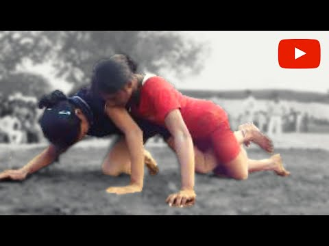 Girl Wrestler From Guru Chandagi Ram Akhara Wins M4h03363.mp4 video